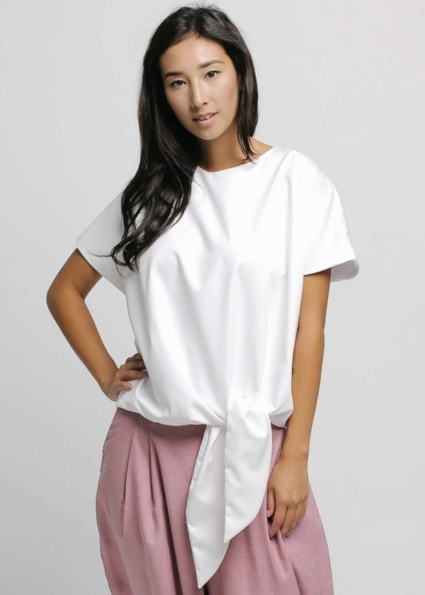 Givenni Tiep Top in White