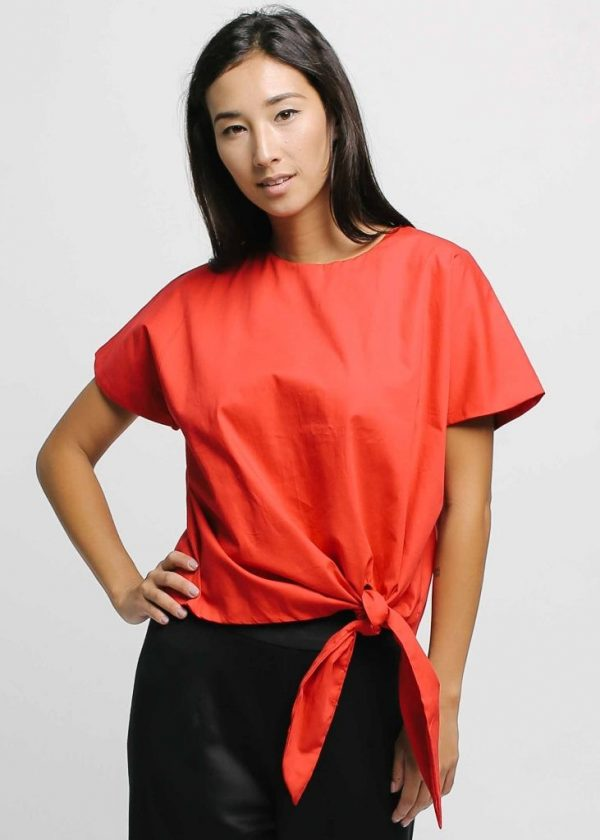 Givenni Tiep Top in Red