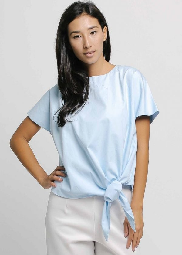 Givenni Tiep Top in Sky Blue