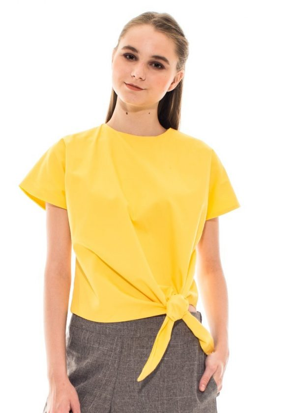 Toko Baju Online Givenni Tied Top in Yellow