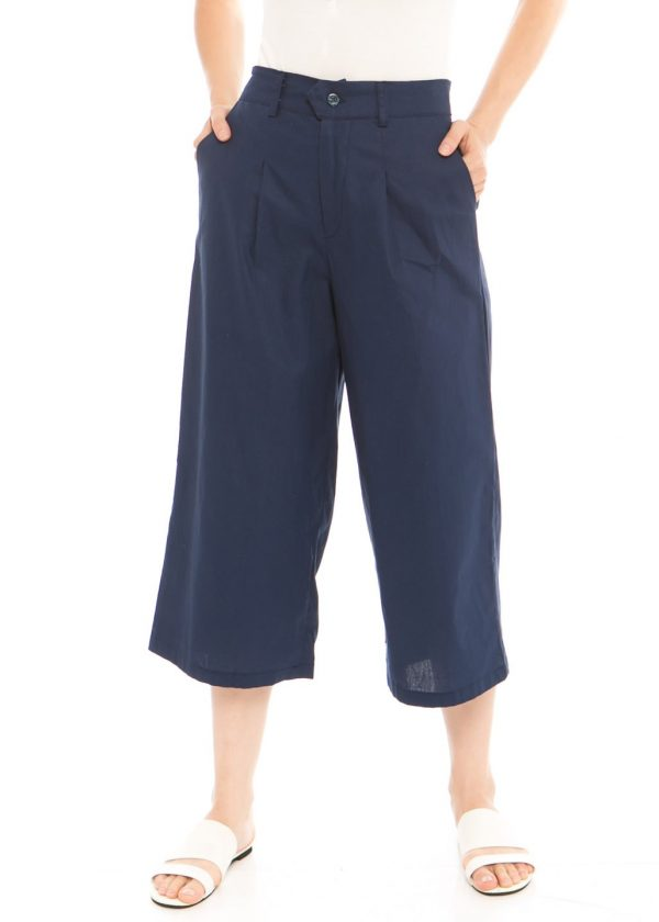 Ananta 7/8 Culotte In Navy Blue