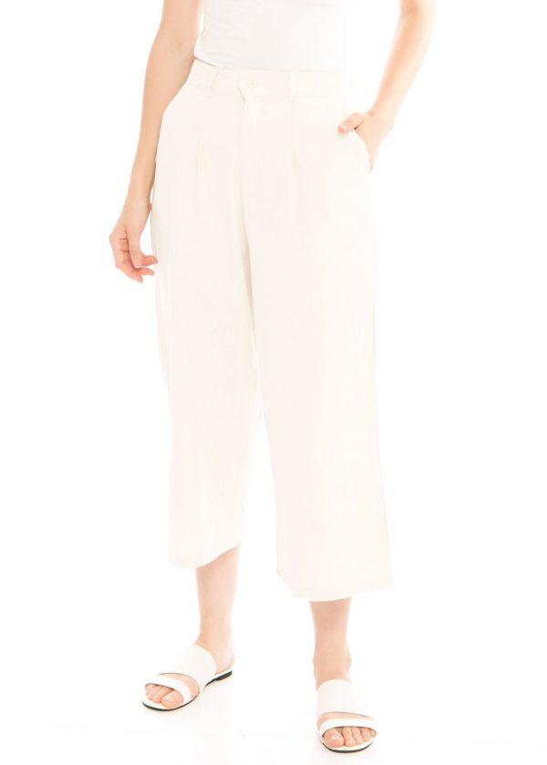 Ananta 7/8 Culotte In White