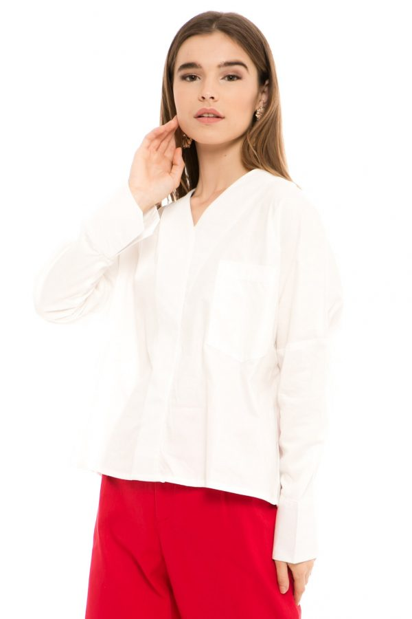 Clair Blouse in White