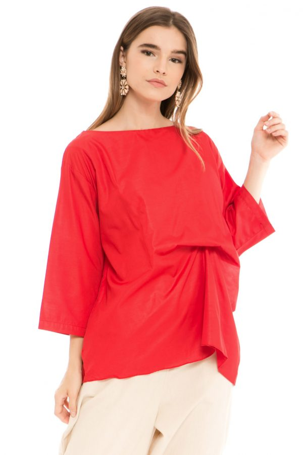 Komo Blouse in Red