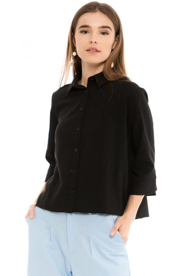 Chloe Blouse in Black