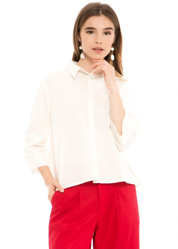 Chloe Blouse in White