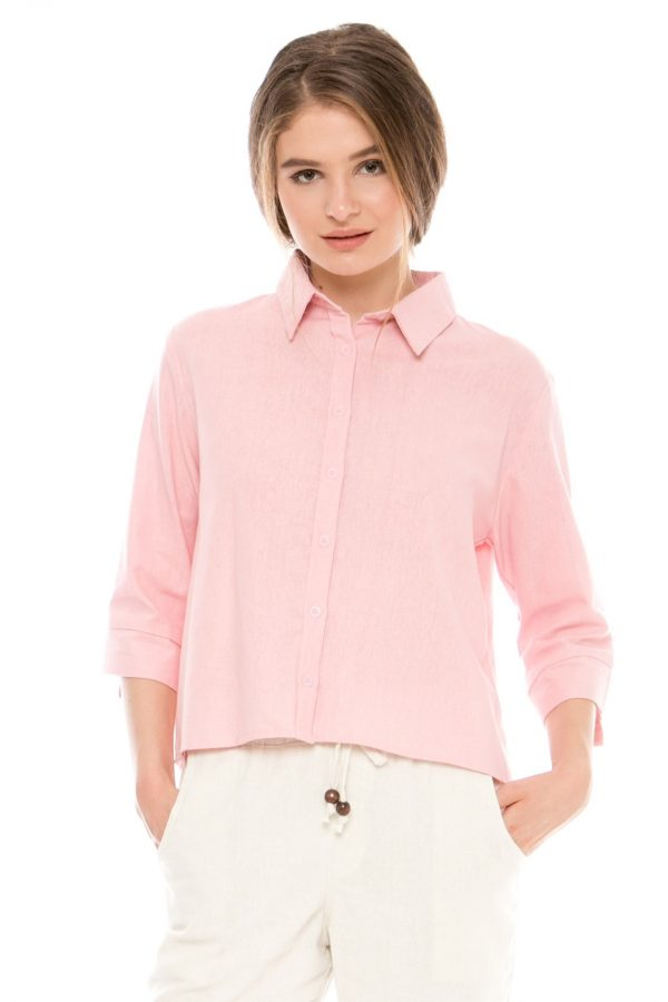 Chloe Blouse in Pink