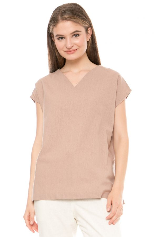 Kendal Blouse in Brown