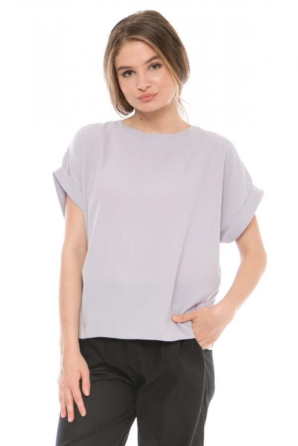 Asta Blouse in Grey