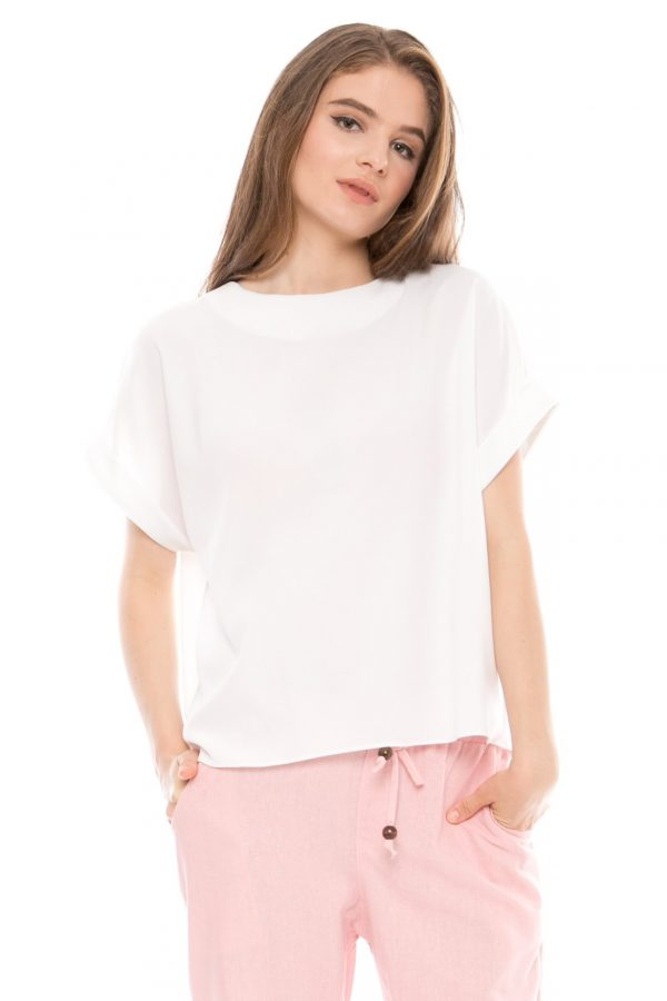 Asta Blouse in White