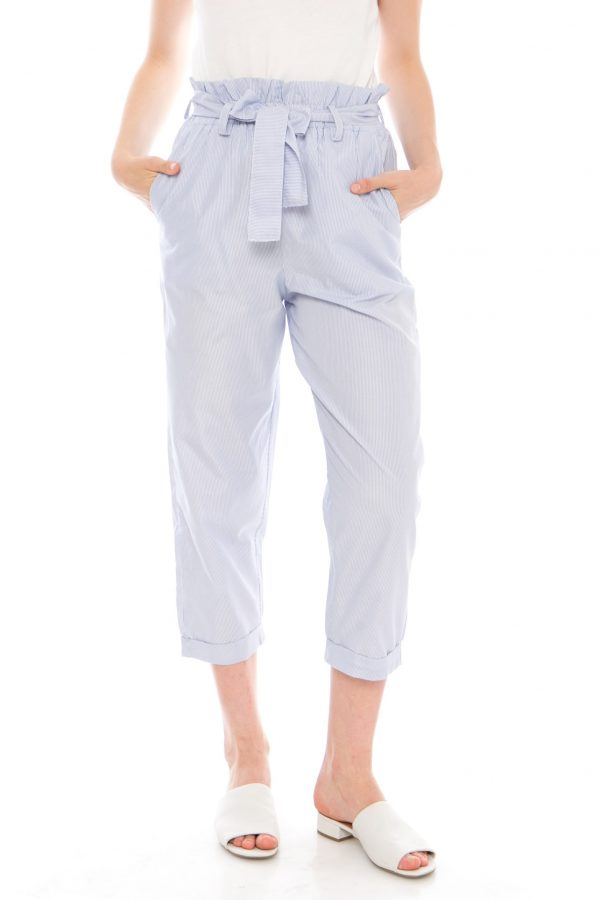 Vivian Pants in Stripe Blue