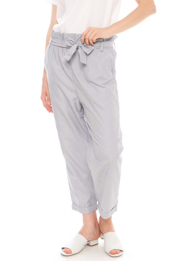Vivian Pants in Stripe Grey