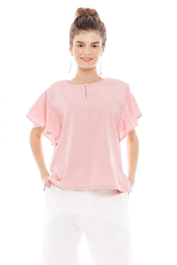 Tania Blouse in Pink