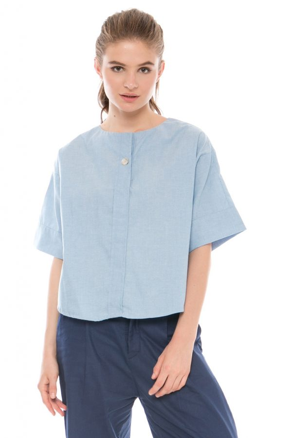 Vanessa Blouse in Blue