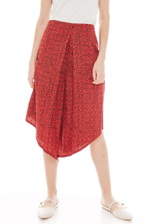 Alila Culottes in Benji Red