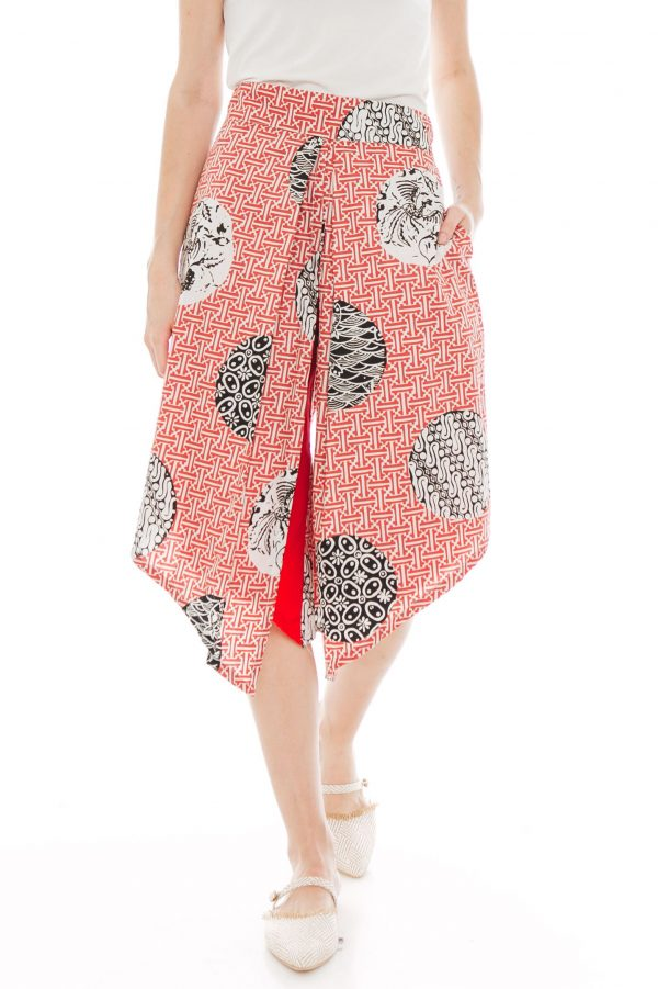 Alila Culottes in Slampadan Red